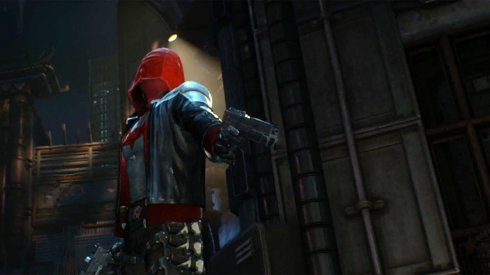 heres a peek at batman arkham knights red hood in