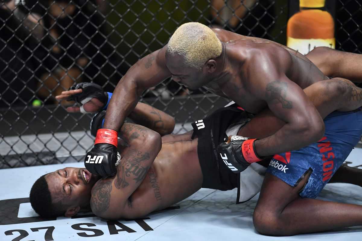 Derek Brunson puts on suffocating performance to dominate Kevin Holland in UFC Vegas 22 main event - MMA Fighting
