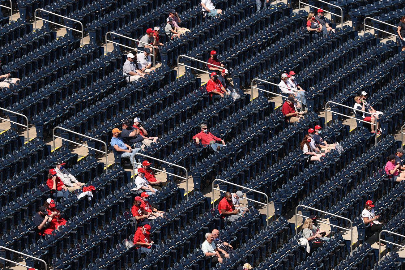 Atlanta Braves v Washington Nationals Game 1
