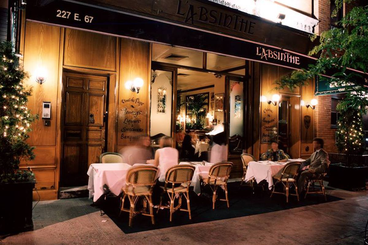 Upper East Side French Stalwart L Absinthe Forced To Shutter