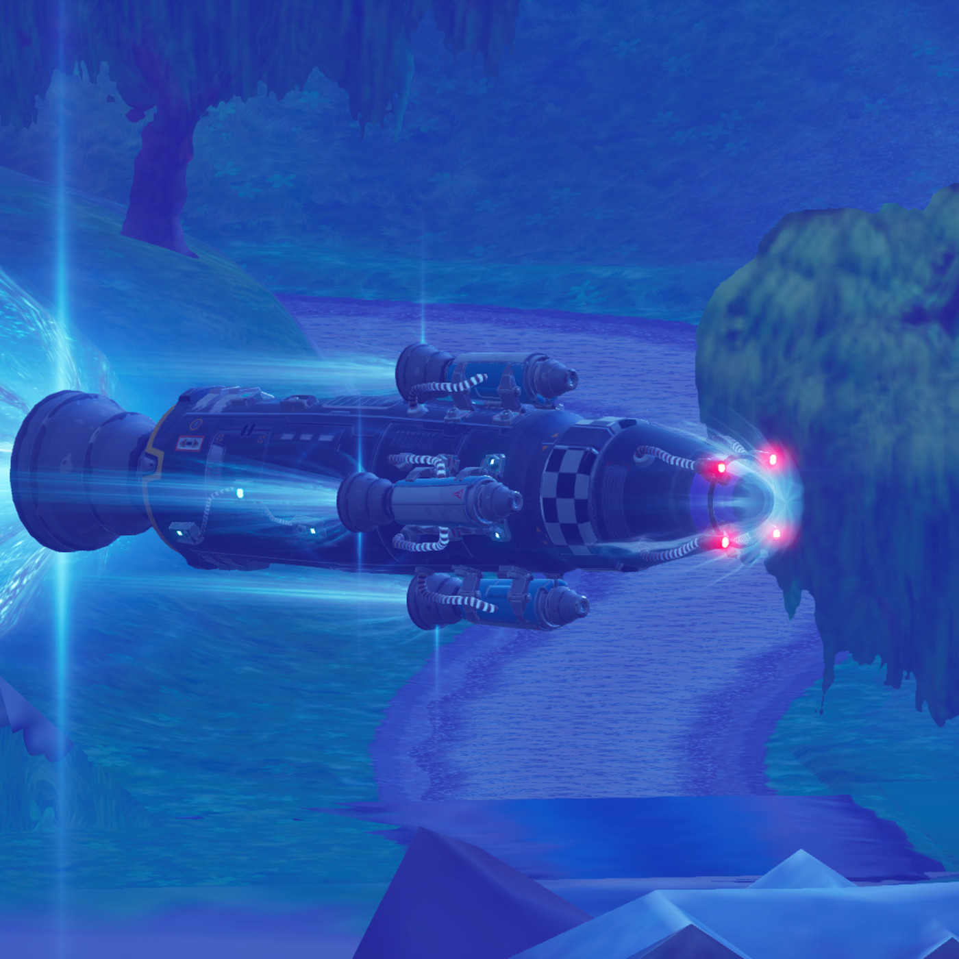 Watch Fortnites Rocket Launch Gameplay Complete With