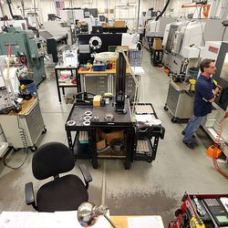 Machinist Jim Wilson works at Paramount Machine in Salt Lake City on Friday, June 16, 2017. Talent Ready Utah recently awarded 12 Utah partnerships with $2.12 million in grants to better meet Utah's skilled workforce needs.