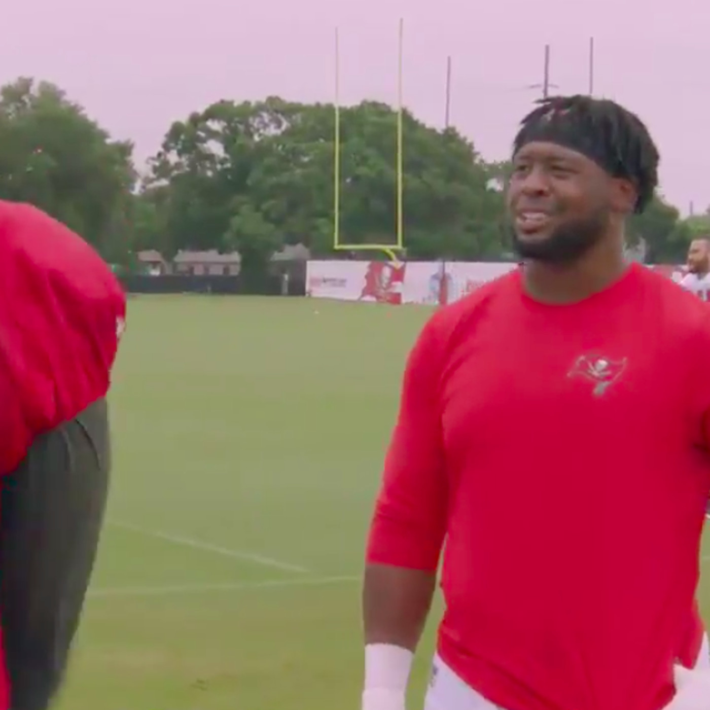 new style b81a5 2900d Gerald McCoy and Kevin Pamphile are as excited about Game of ...