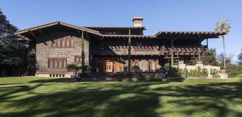 The Gamble House in Pasadena, California