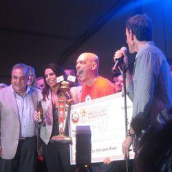 Michael Symon wins the People's Choice Award