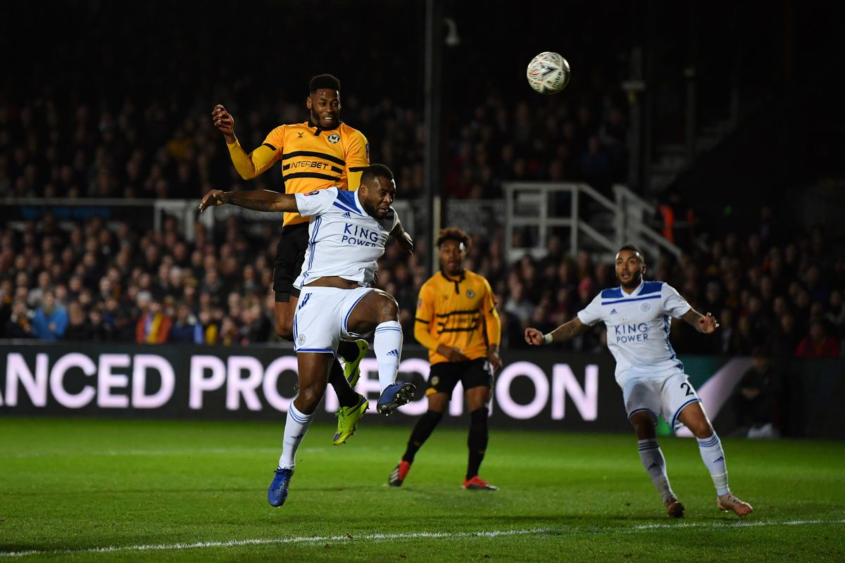 Newport County v Leicester City - The Emirates FA Cup Third Round