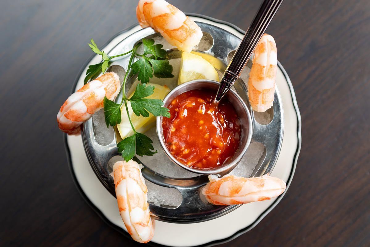 Shrimp cocktail at Mr. Digby's