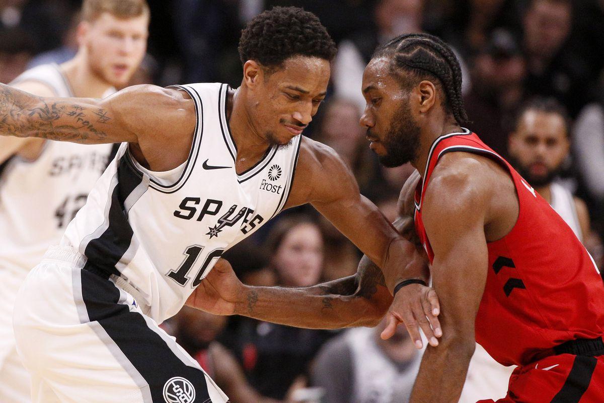 Five thoughts recap: San Antonio Spurs 125, Toronto Raptors 107, DeMar DeRozan, Kawhi Leonard