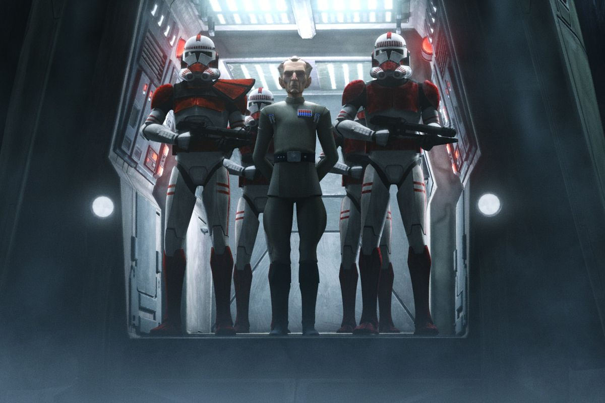 """""""The Bad Batch"""" opening episode includes Grand Admiral Tarkin."""