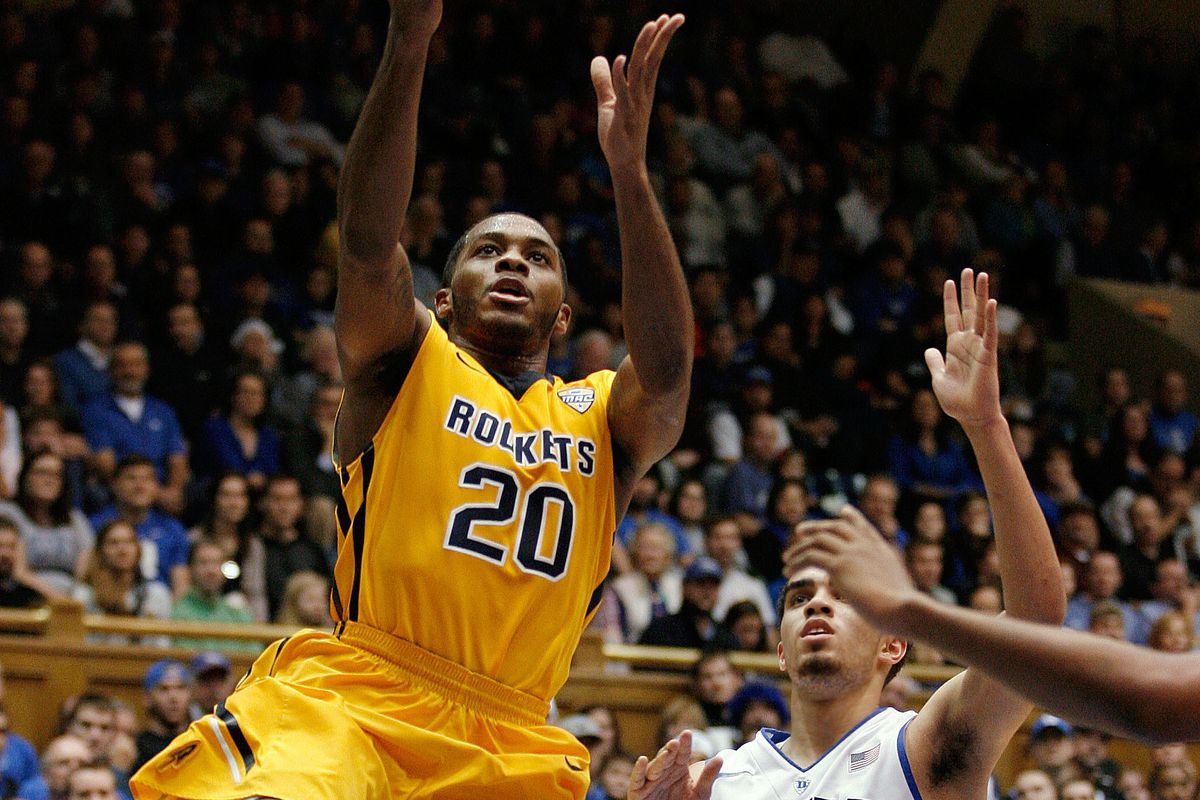 Juice Brown helps the Rockets put up a fight but Toledo loses in Durham.