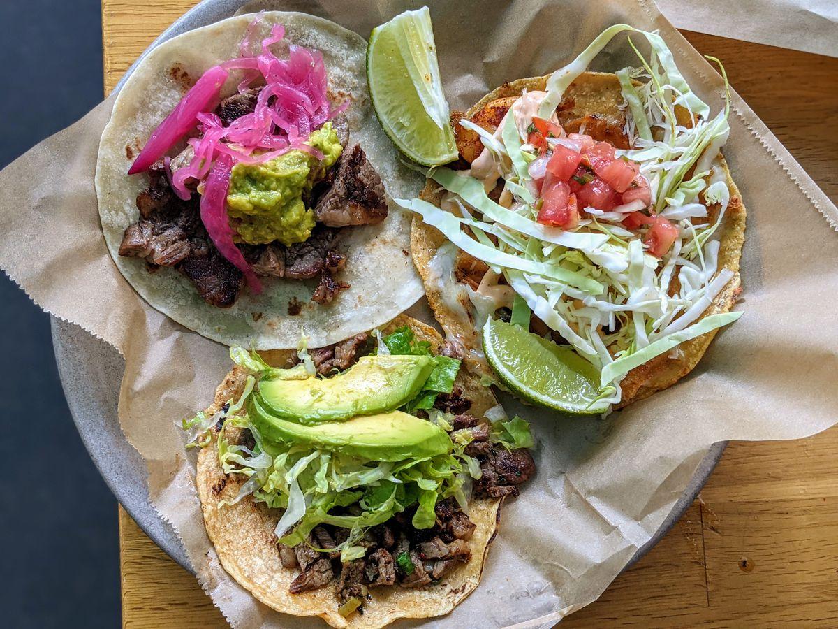Tacos from Sonoritas Prime in Los Angeles.