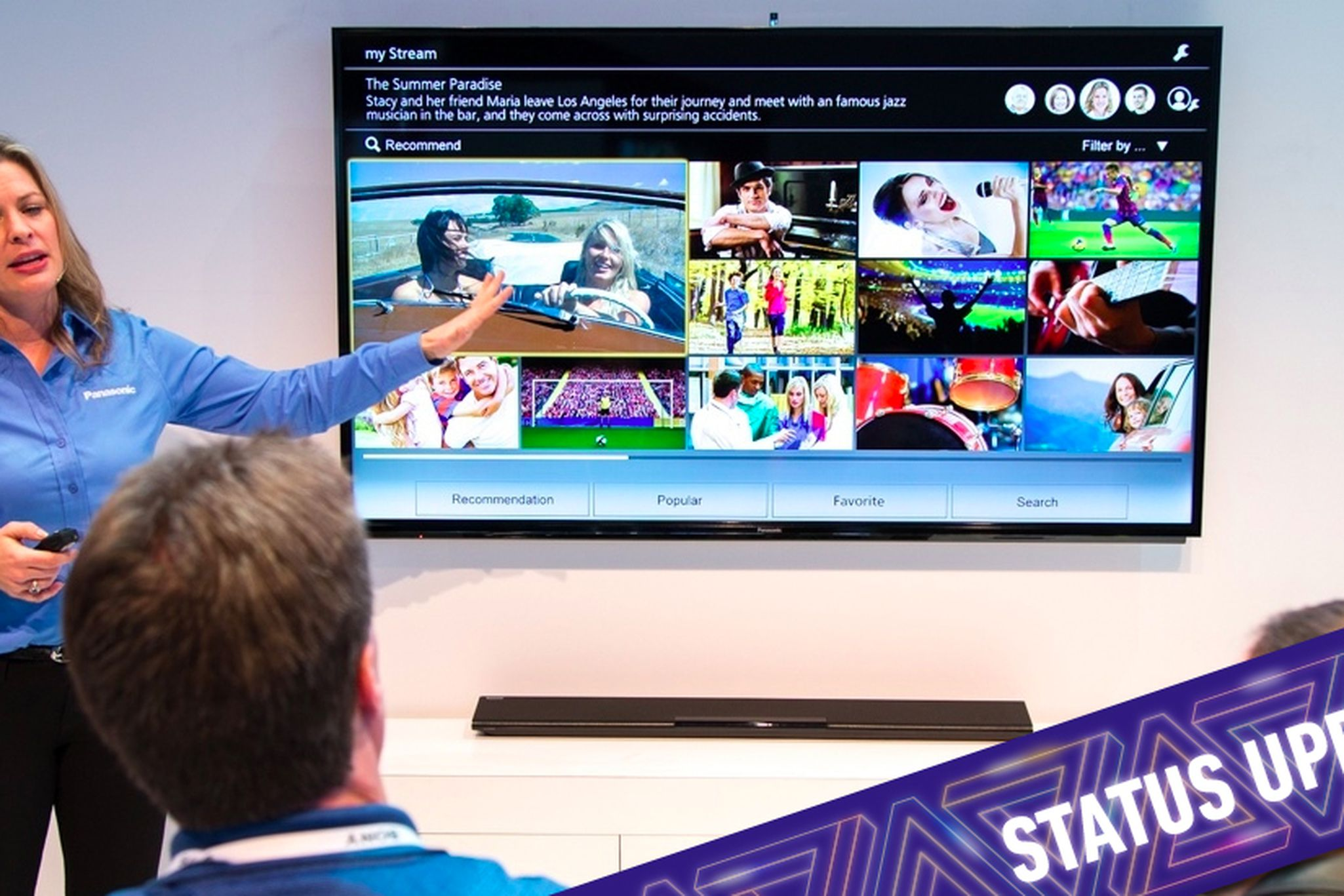 IQ test: the state of smart TVs at CES 2014 | The Verge
