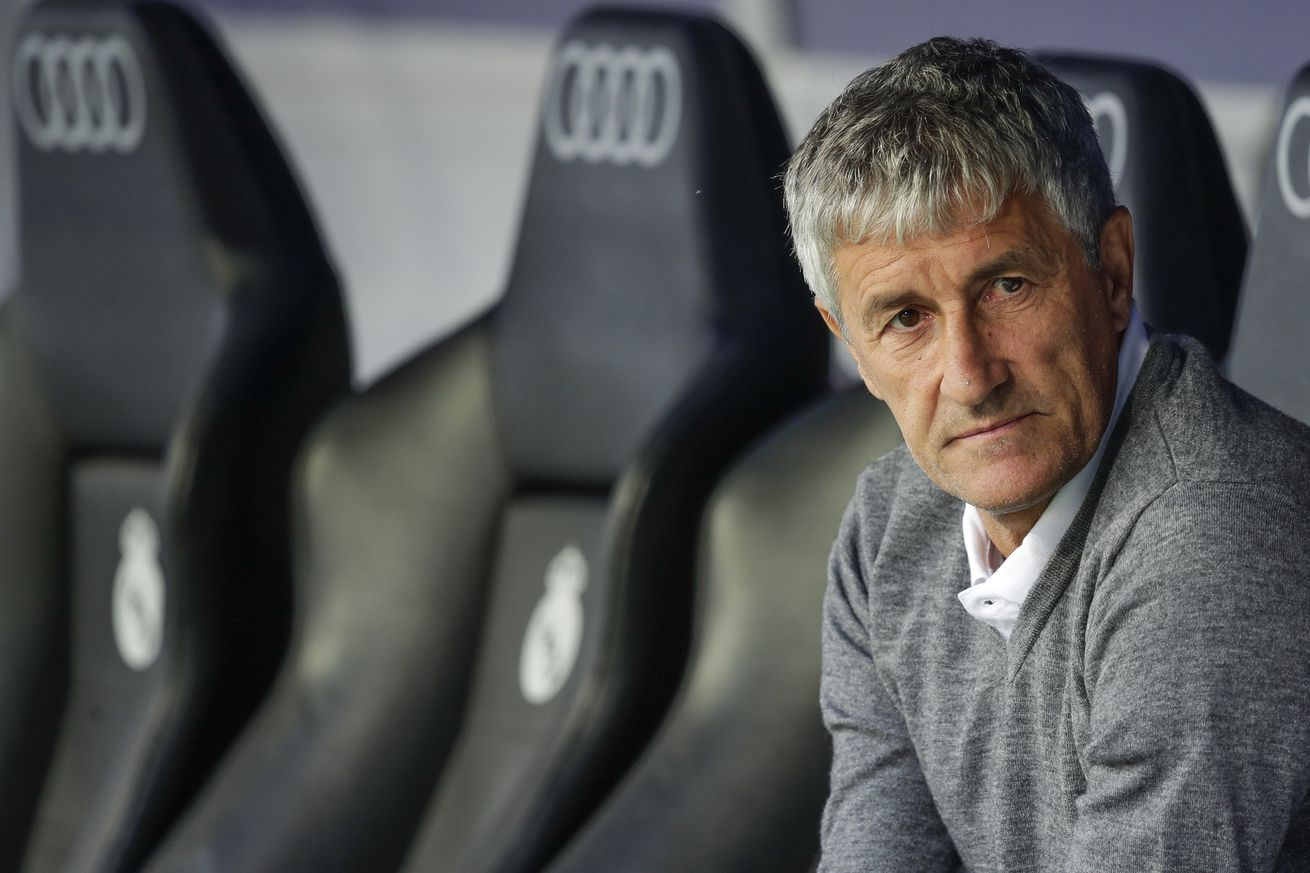 Who is Quique Setién, Barcelona?s new manager""