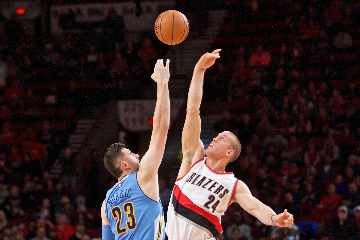 NBA: Preseason-Denver Nuggets at Portland Trail Blazers
