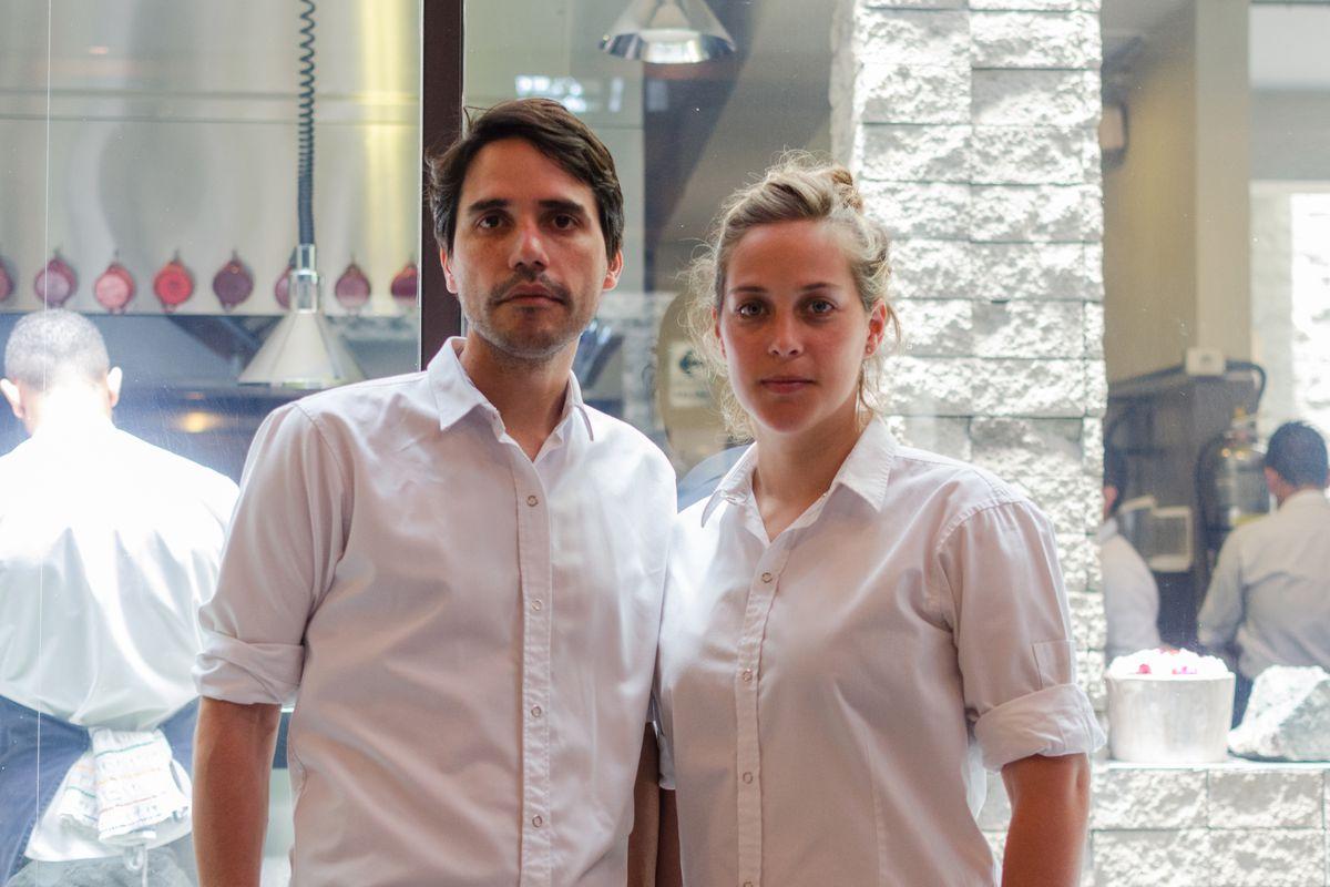 Virgilio Martínez and Pía León