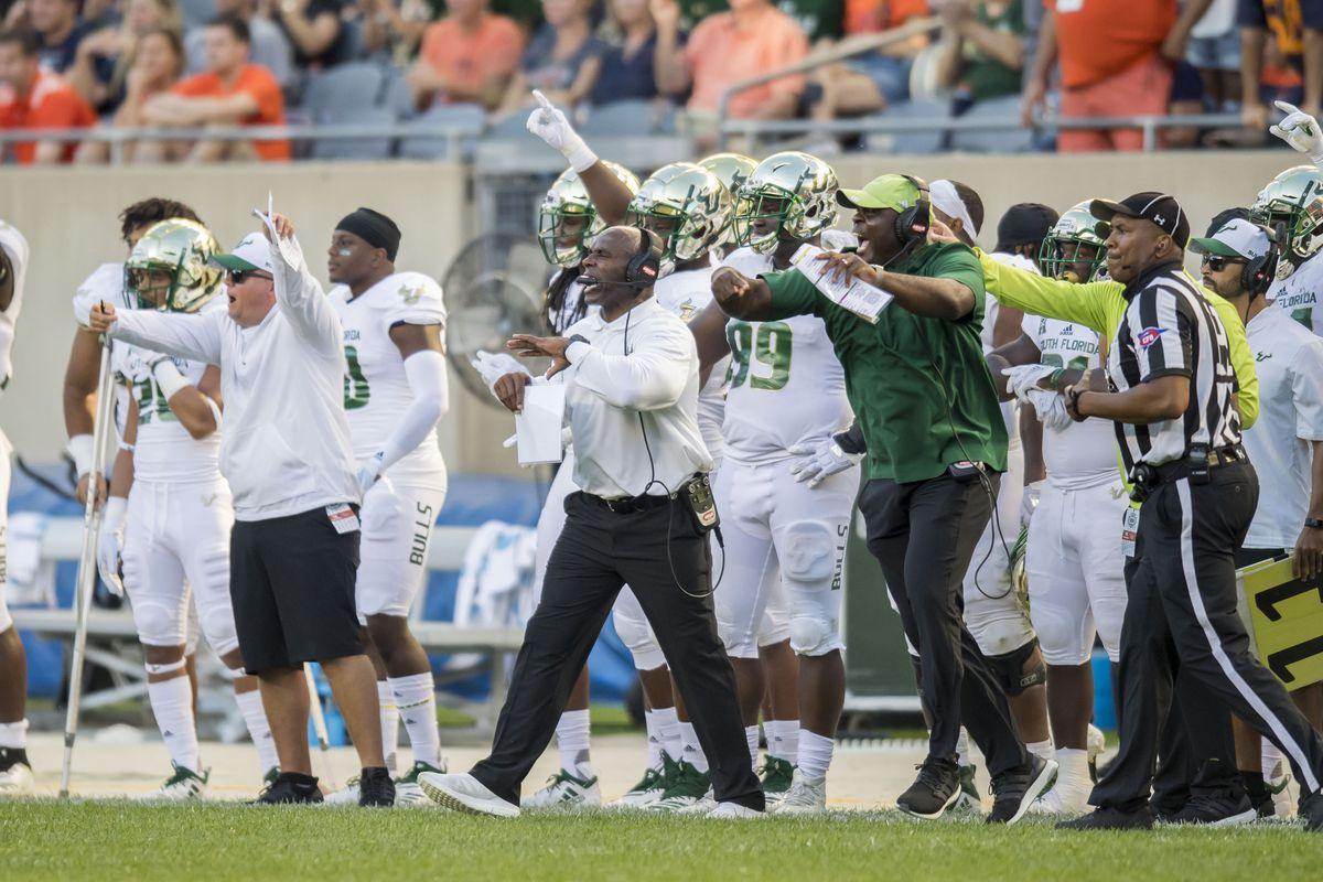 NCAA Football: South Florida at Illinois