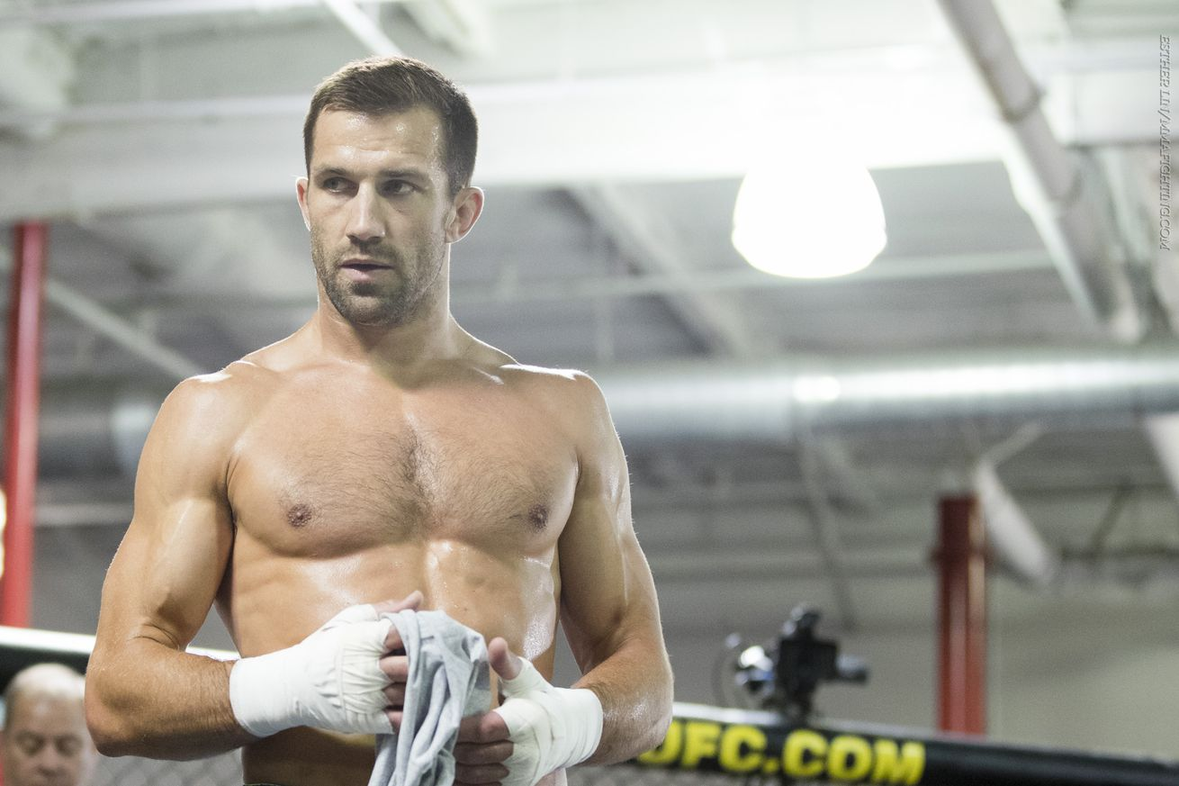 community news, Luke Rockhold: 'I wouldn't mind taking fights at heavyweight just for fun'