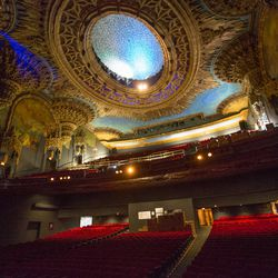 """Our eyes may or may not have teared up a bit when we stepped into this room. Another win for Los Angeles City Councilmember José Huizar's <a href=""""http://www.bringingbackbroadway.com/index.htm"""">Bringing Back Broadway</a> initiative."""