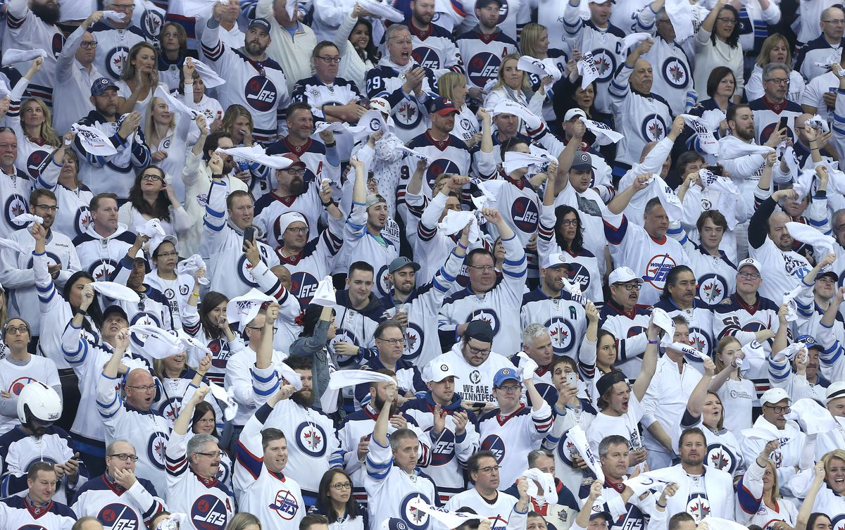 Whiteout parties to continue for Winnipeg Jets home playoff games, say organizers