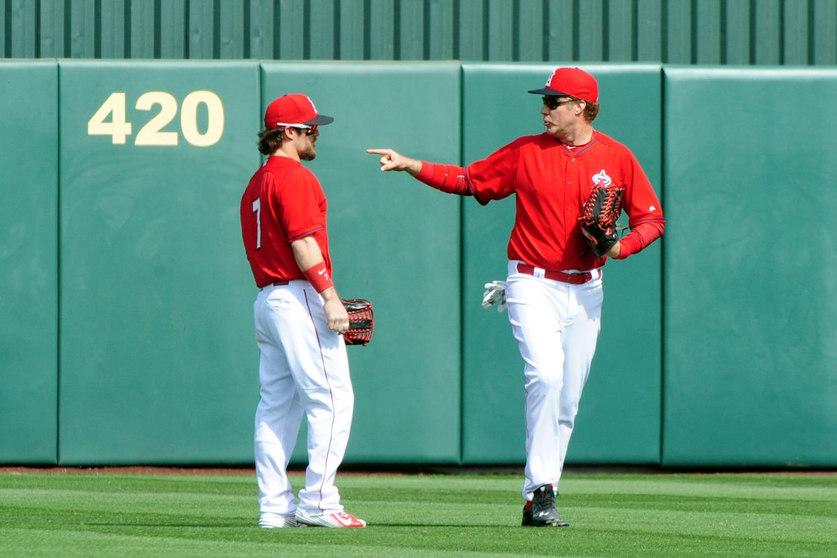 You want to take a gamble on playing in Vegas, Cowgill?