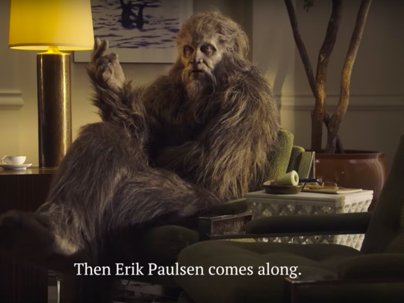 Bigfoot stars in an ad by Minnesota House candidate Dean Phillips, a Democrat.