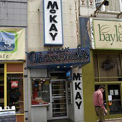 Storefront of McKay Diamonds in downtown Salt Lake City.