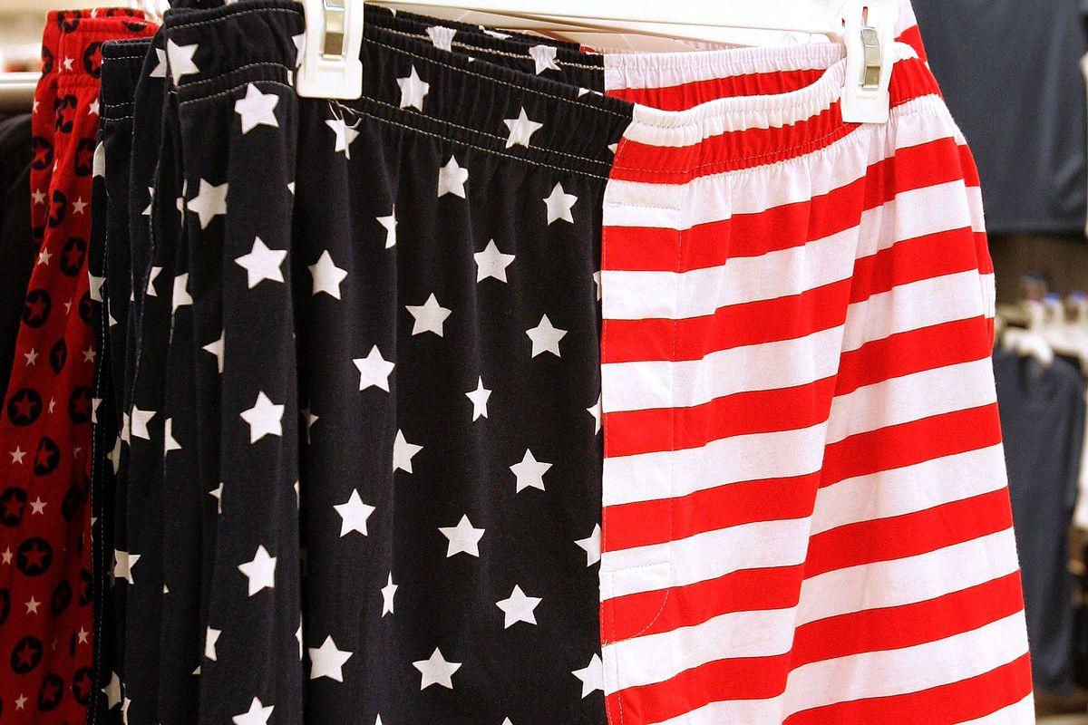 Scott, America, and boxer shorts