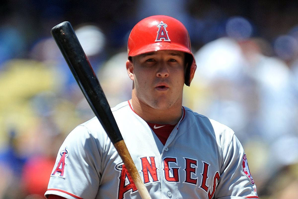 The best player in the game, Mike Trout