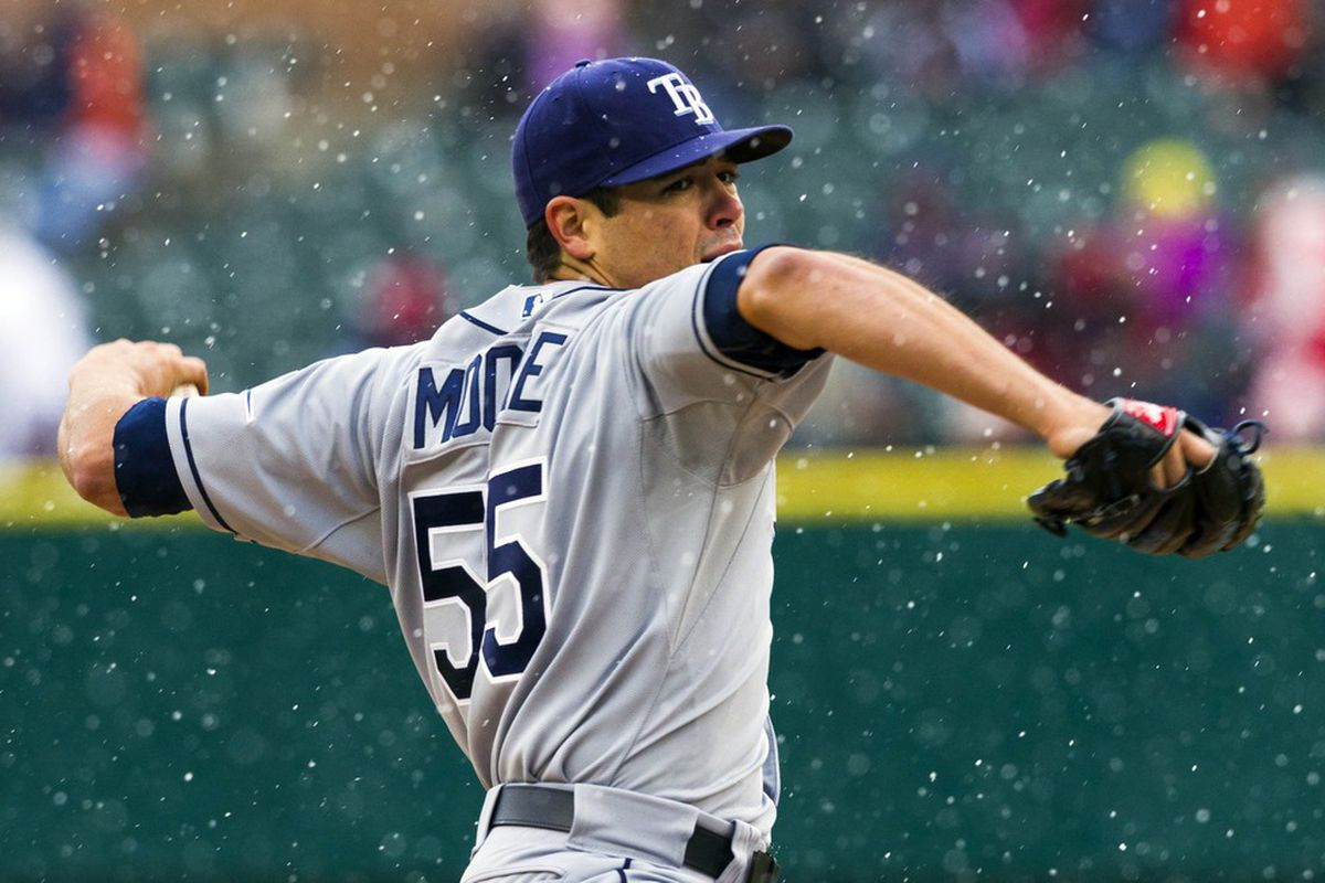 Neither rain, nor snow, nor sleet, nor hail shall keep Matt Moore from his appointed round. He always delivers, even on Sunday. He always rings twice, too. OK. No more postman one-liners.