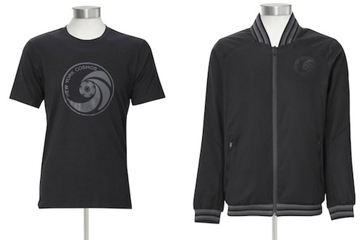 Umbro x New York Cosmos Blackout tee and track jacket