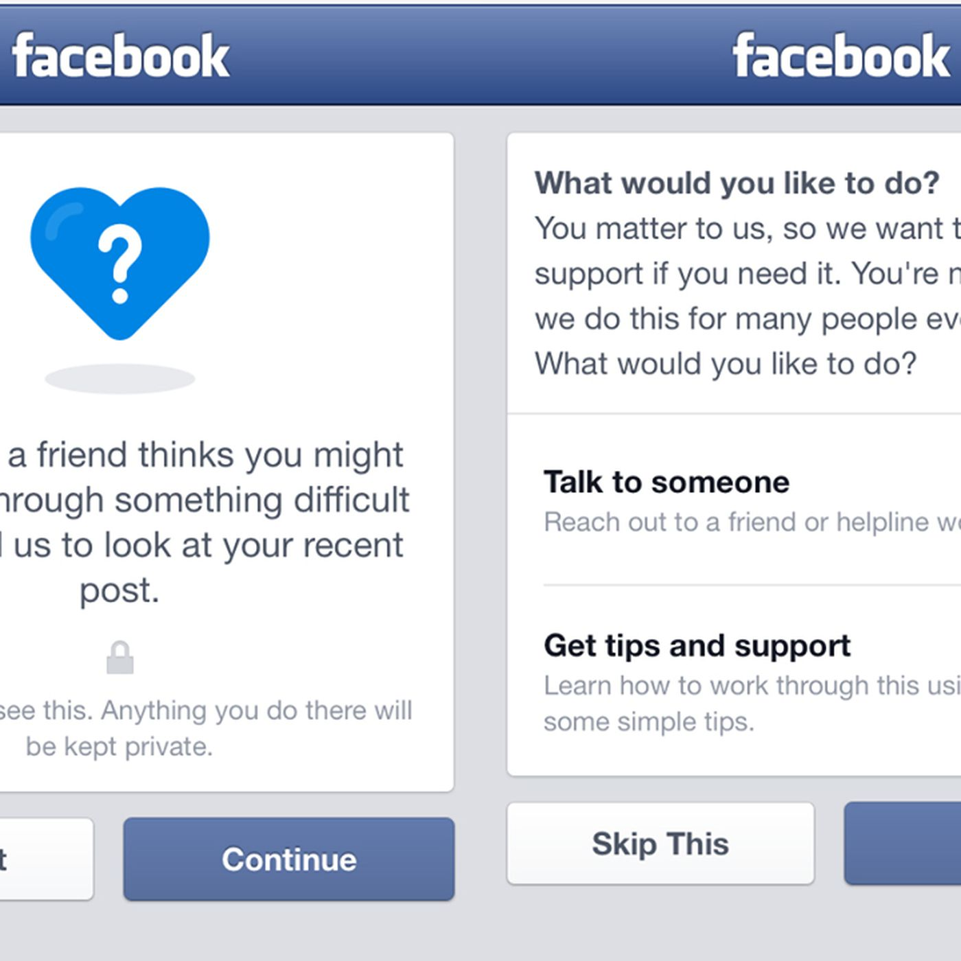 Facebook Adds New Tools For Suicide Prevention The Verge