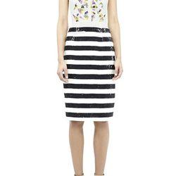 """Easton Shattered Glass Dress, <a href=""""http://www.nicolemiller.com/easton-shattered-glass-dress"""">Nicole Miller</a>, $695"""