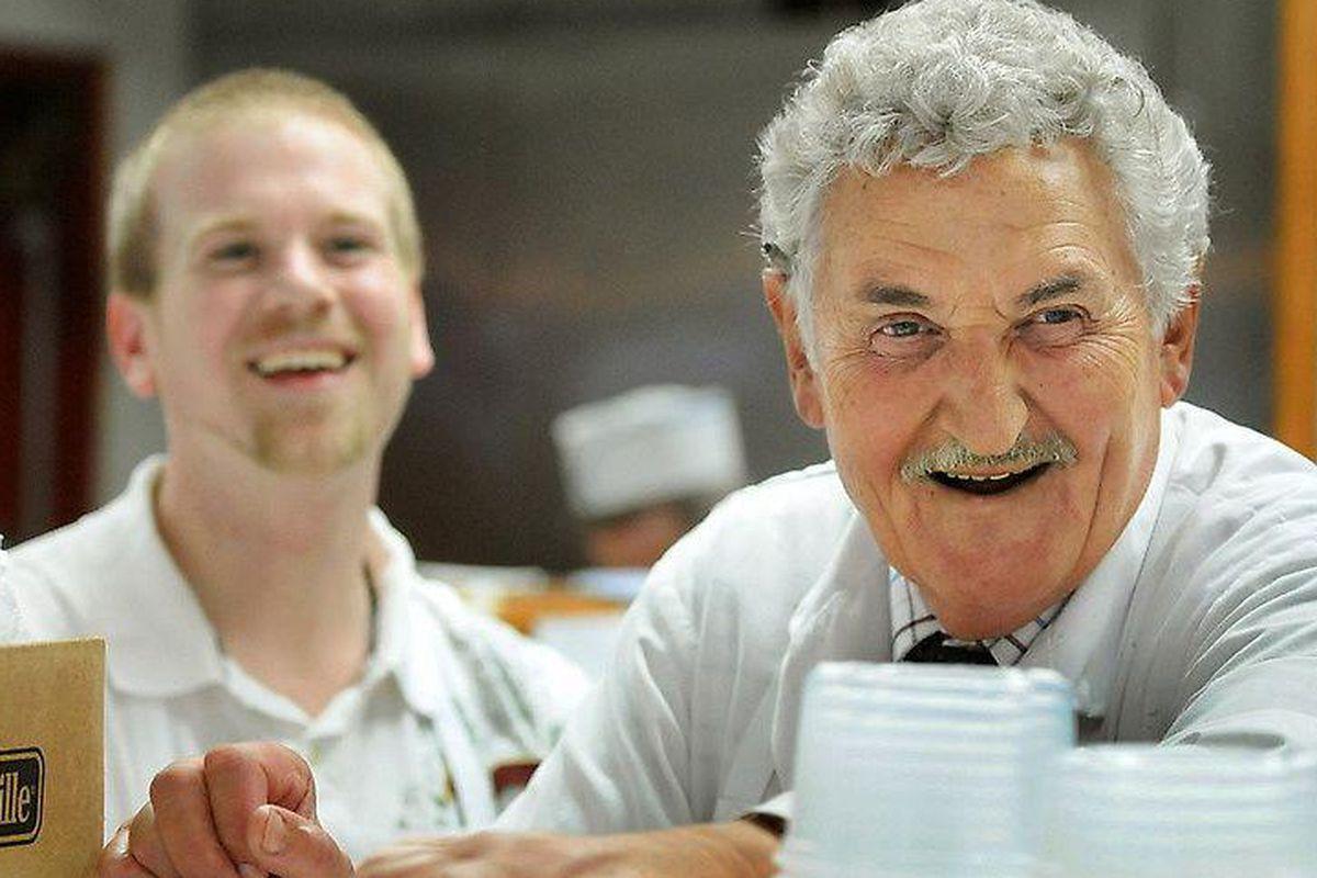 Stuart Gerr, butcher and beloved neighborhood icon.