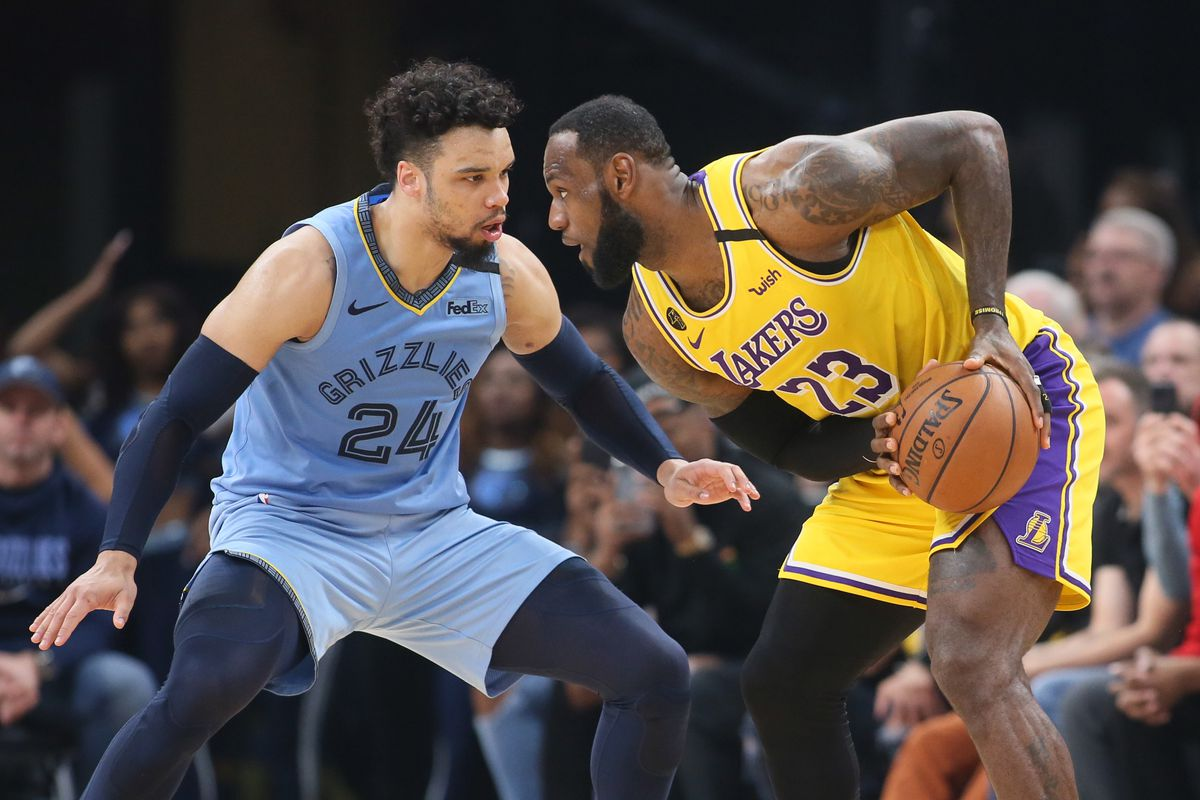2020 Nba Playoff Preview Looking At Potential Lakers Vs Grizzlies First Round Series Draftkings Nation