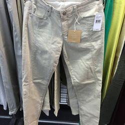 Paneled skinny leg pants, $79 (were $225)
