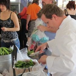 Chef Brian Howard from Comme Ça