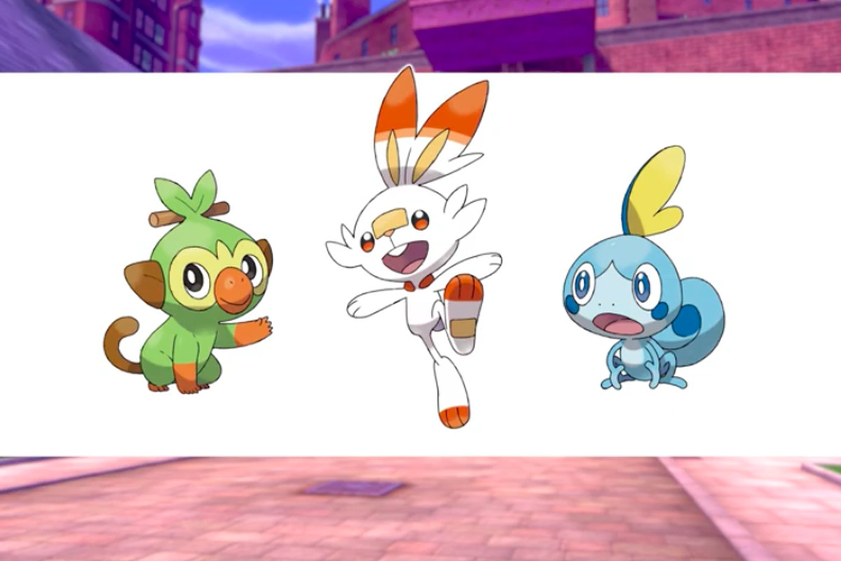 Pokemon Sword And Shield S New Starters Announced Polygon