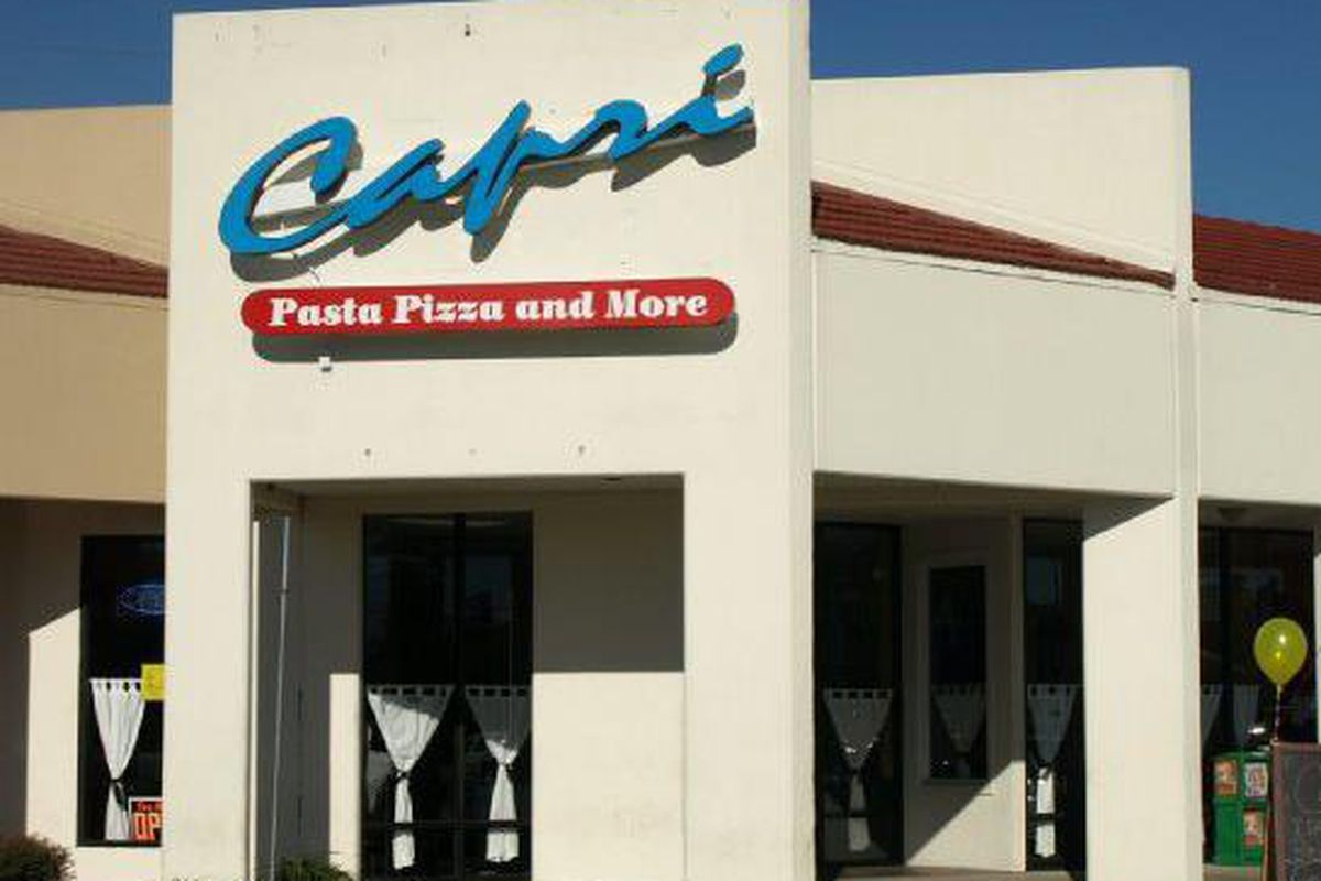 Spring\'s Much Beloved Capri Pasta Bids Farewell Next Week - Eater ...