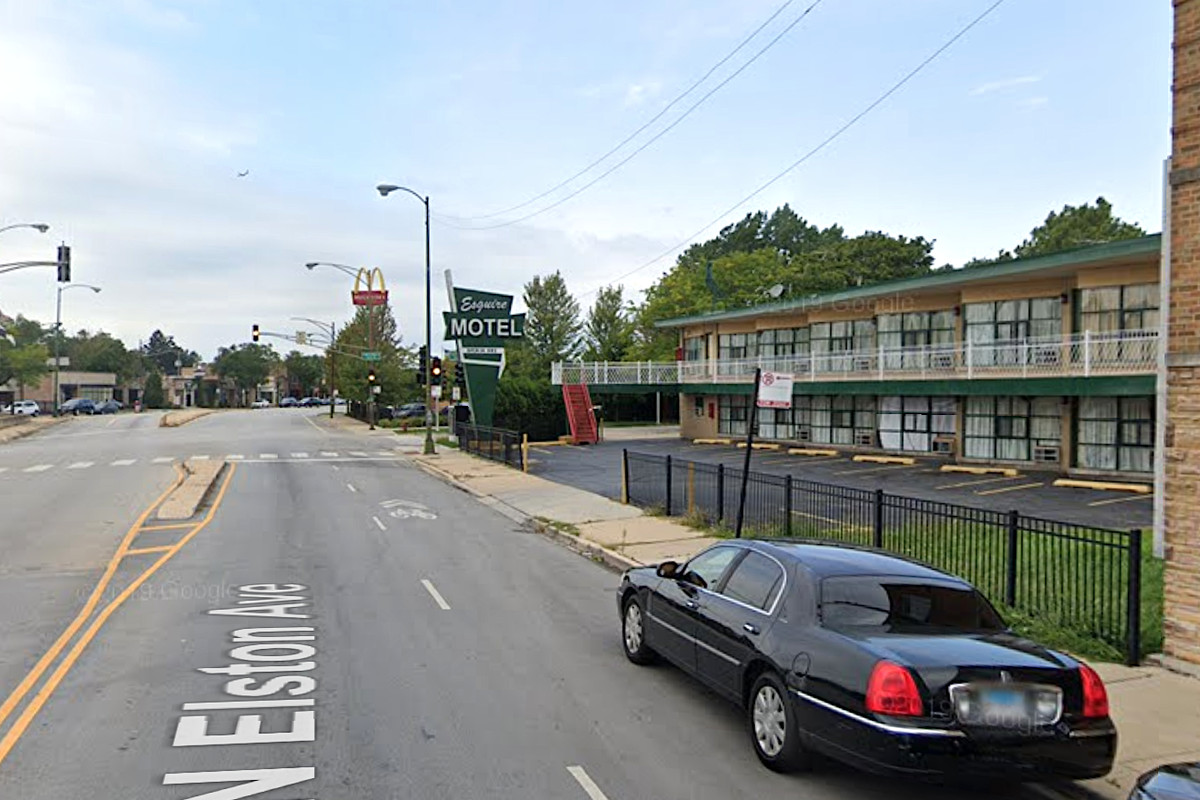 A woman was found shot to death June 29, 2020, at the Esquire Motel, 6145 N. Elston Ave.
