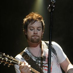 David Cook performs during the American Idols Live concert at the E Center in West Valley on Monday night.