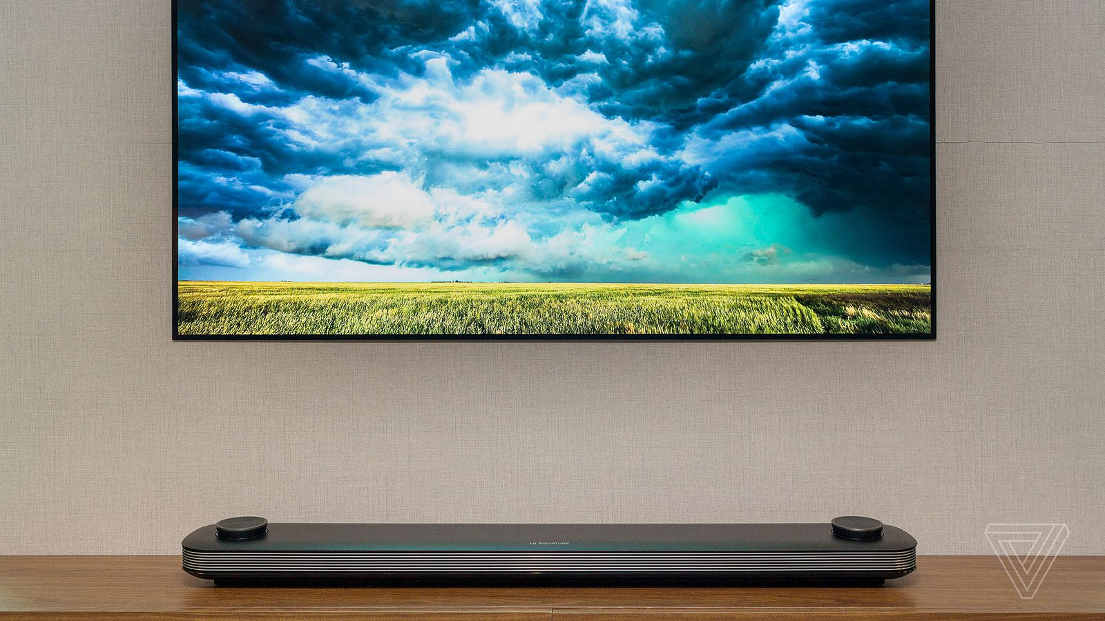Lg S New 77 Inch Oled Wallpaper Tv Is Now Available For
