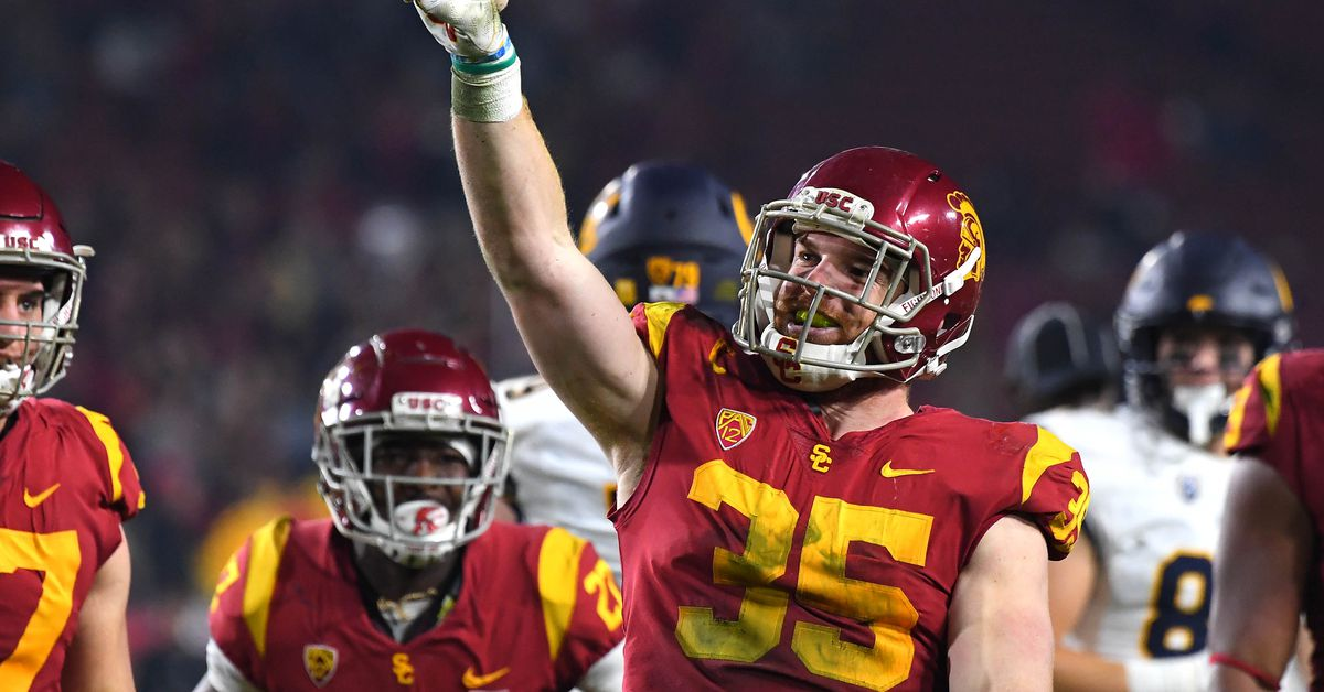 79a021fbfe 2019 NFL Draft  Cameron Smith selected by the Minnesota Vikings in Round 5.  USC Football logo