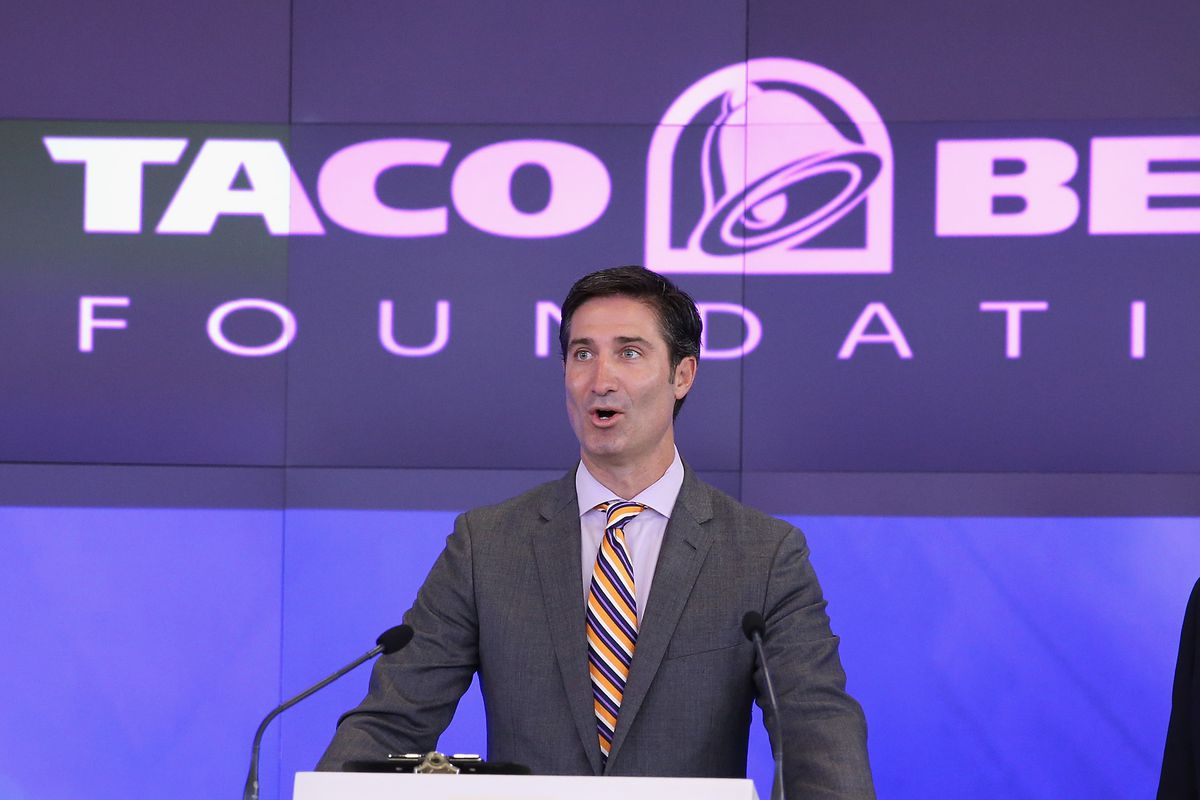 Taco Bell CEO Brian Niccol, who doesn't want to seem out of touch with today's youth.