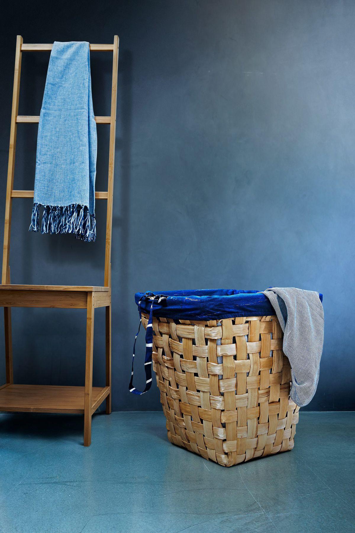 Woven fiber basic and ladder