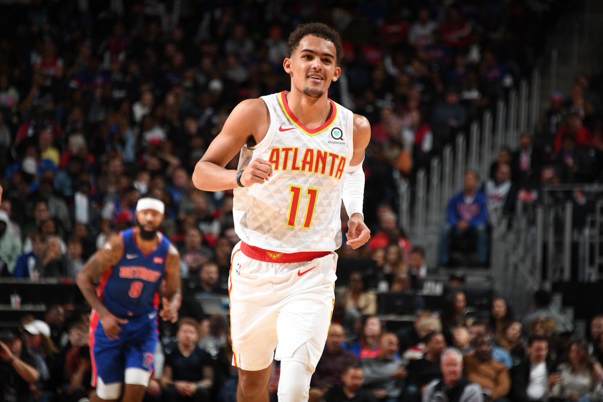 Trae Young Dazzles In Detroit Leads Hawks To Opening