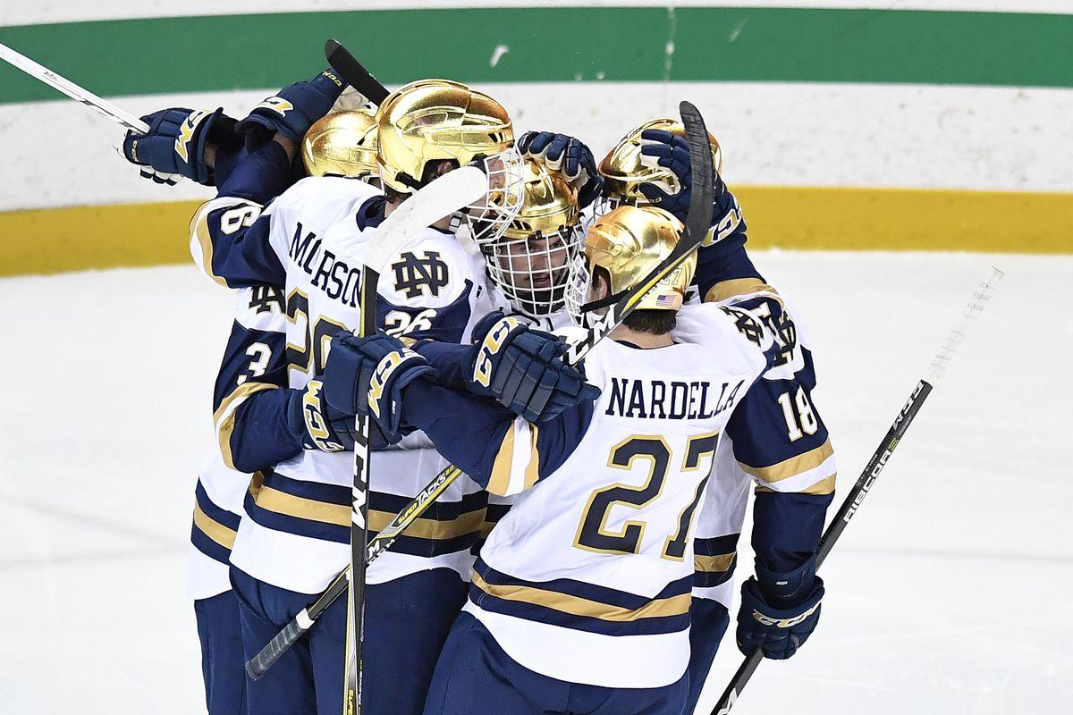 COLLEGE HOCKEY: NOV 24 Minnesota at Notre Dame