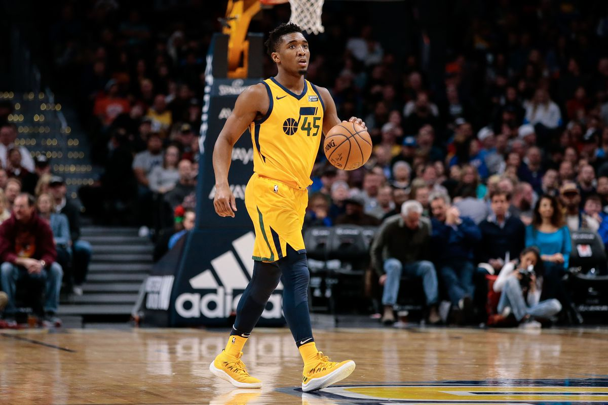 Donovan Mitchell Jazz >> Donovan Mitchell is becoming a legend before our eyes - SLC Dunk