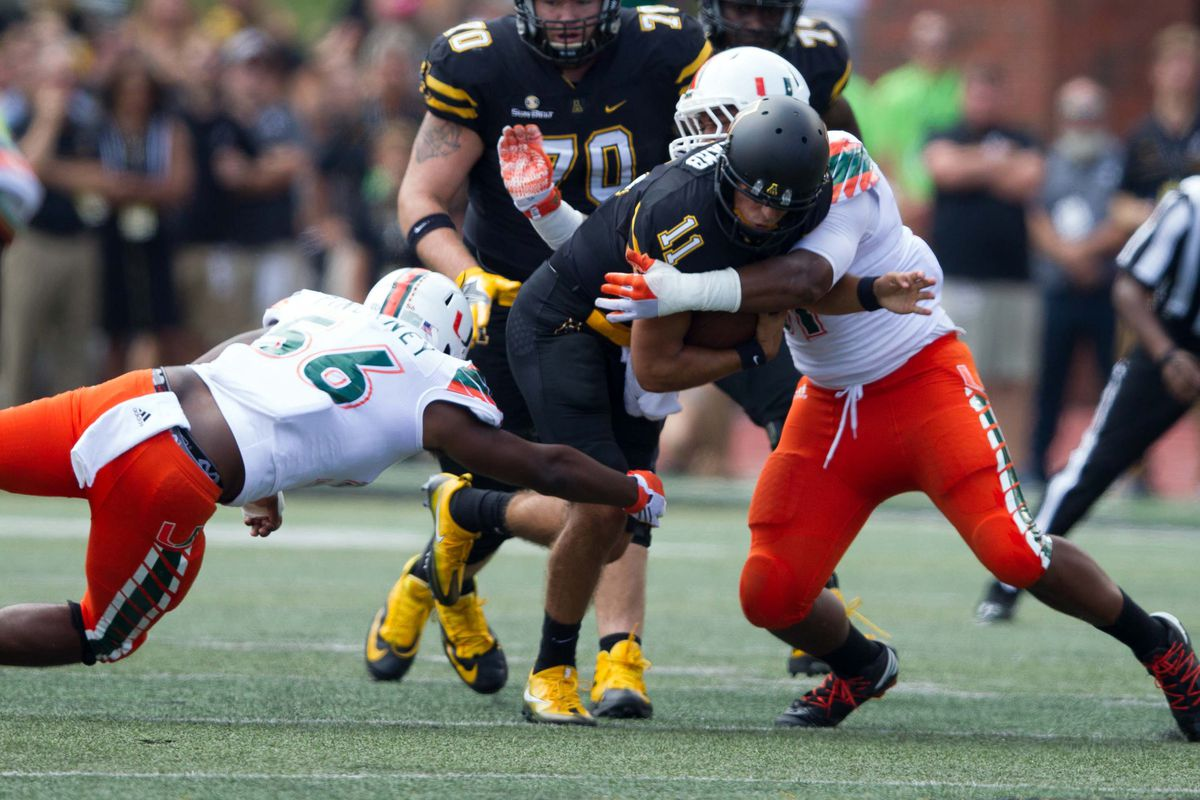 Florida State At Miami Advanced Stats Tale Of The Tape