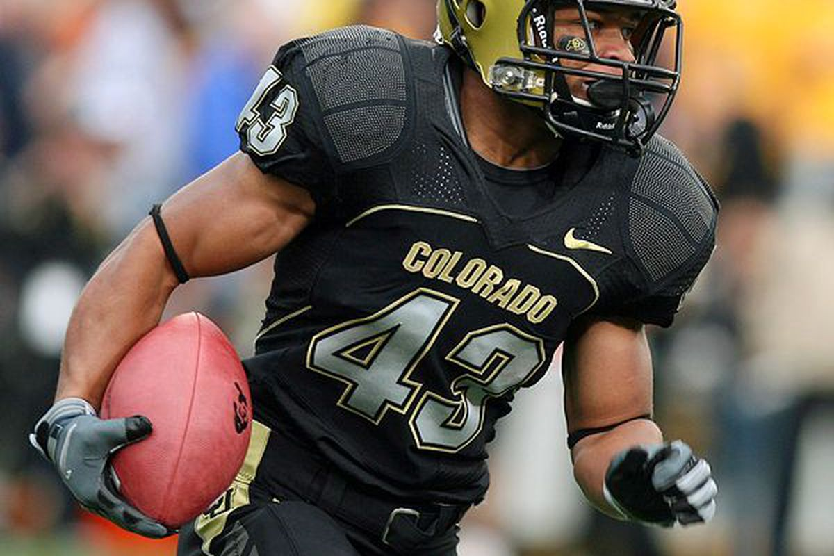 Colorado Buffaloes RB Rodney Stewart returns from injury this week against the Wyoming Cowboys.