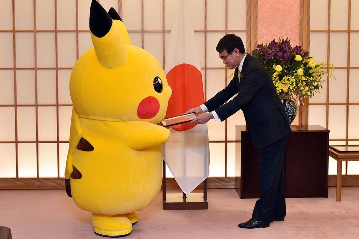 Pikachu Is The Ambassador Of Osaka And Our Hearts The Verge